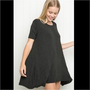 Brandy Melville Gray Tunic Shirt Dress!